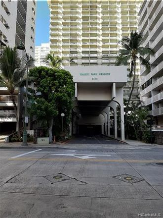 Rent this 3 bed condo on Waikiki Park Heights in 2440 Kuhio Avenue, Honolulu
