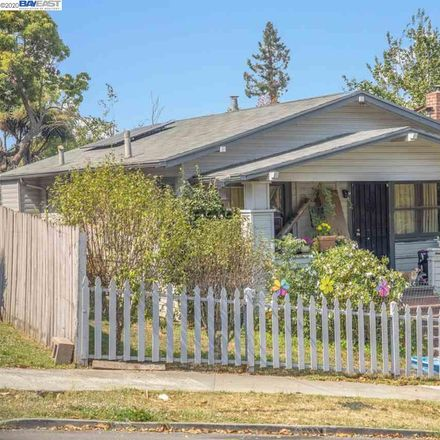Rent this 2 bed house on 4443 Virginia Avenue in Oakland, CA 94619