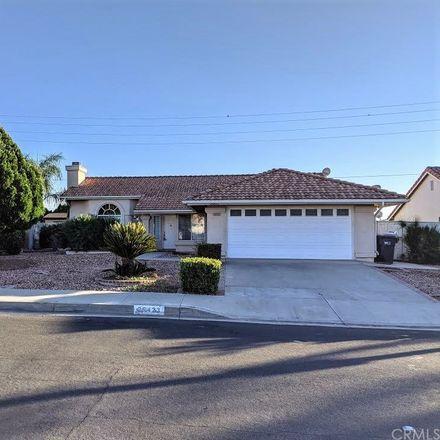 Rent this 3 bed house on 26423 Potomac Drive in Menifee, CA 92586