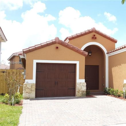Rent this 3 bed house on 9852 Northwest 10 Terrace in Fountainbleau, FL 33172