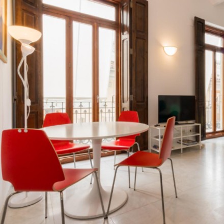 Rent this 4 bed apartment on Carrer del Músic Peydró in 46001 Valencia, Spain
