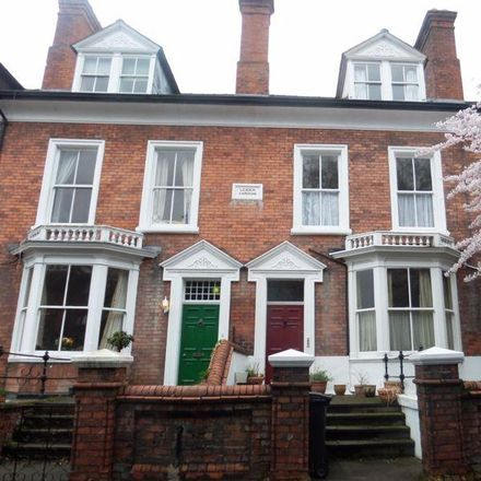 Rent this 1 bed apartment on Lexden Gardens in Belle Vue Road, Shrewsbury SY3 7LX