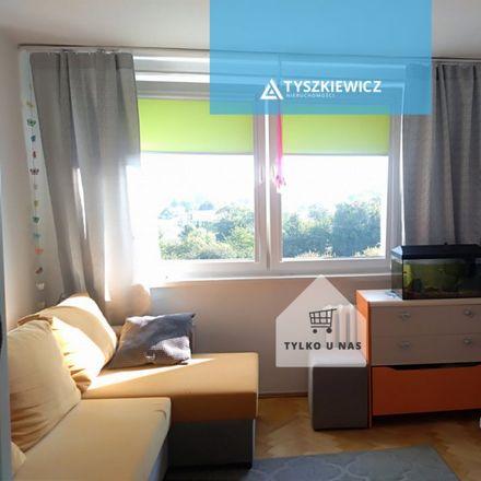 Rent this 1 bed apartment on Polskiego Czerwonego Krzyża 10C in 80-519 Gdansk, Poland