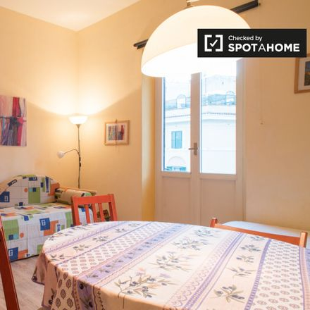 Rent this 1 bed apartment on Salita di Monte del Gallo in 00165 Rome RM, Italy