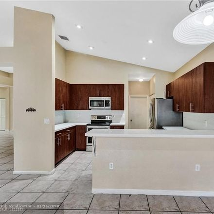 Rent this 4 bed house on 11570 Southwest 10th Street in Pembroke Pines, FL 33025