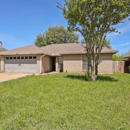 Rent this 3 bed house on 821 Running Creek Dr in Arlington, TX 76001