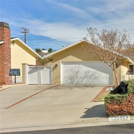 Rent this 3 bed house on 23559 Adamsboro Dr in Newhall, CA