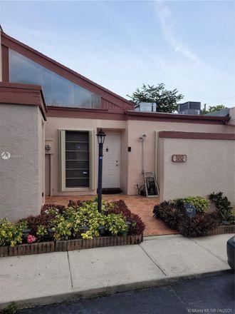 Rent this 2 bed condo on 3132 Northwest 84th Avenue in Sunrise, FL 33351