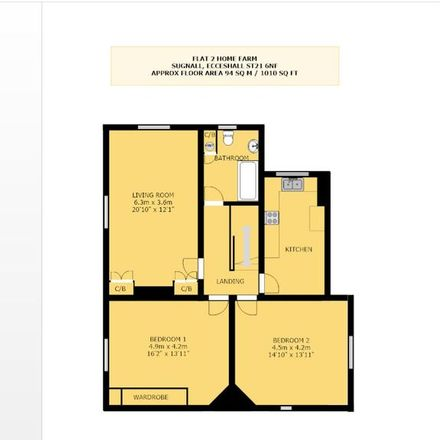Rent this 2 bed apartment on Stafford ST21 6NF