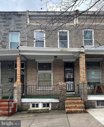 Rent this 3 bed townhouse on 3315 McElderry Street in Baltimore, MD 21205