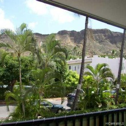 Rent this 1 bed condo on Diamond Head Sands in 3721 Kanaina Avenue, Honolulu