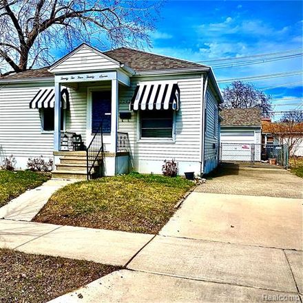 Rent this 2 bed house on 22427 Maxine Street in Saint Clair Shores, MI 48080