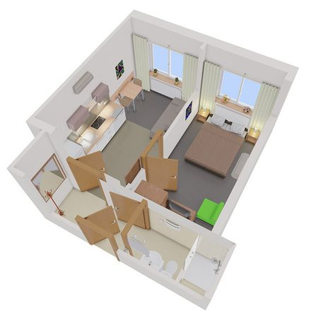 Rent this 2 bed apartment on Tomaszowice-Kolonia 40 in 21-008 Tomaszowice-Kolonia, Poland