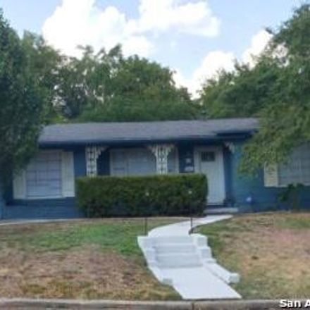 Rent this 3 bed house on 615 Byrnes Drive in San Antonio, TX 78209