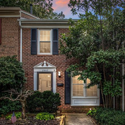 Rent this 2 bed townhouse on 2447 Alsop Court in Reston, VA 20191