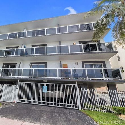 Rent this 2 bed apartment on 1986 Biarritz Drive in Miami Beach, FL 33141