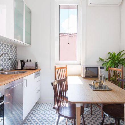 Rent this 1 bed apartment on Travessa do Meio in 1100-256 Lisbon, Portugal
