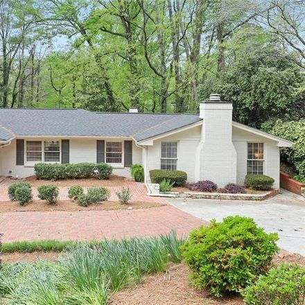 Rent this 5 bed house on Haverhill Dr NE in Atlanta, GA