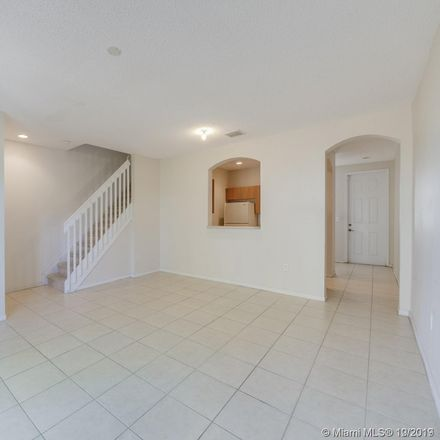 Rent this 3 bed townhouse on NW 42 Pl in Pompano Beach, FL