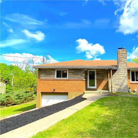 Rent this 3 bed house on 150 Westward Ho Drive in Penn Hills, PA 15235