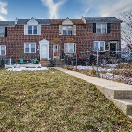 Rent this 3 bed townhouse on 404 South Church Street in Clifton Heights, PA 19018