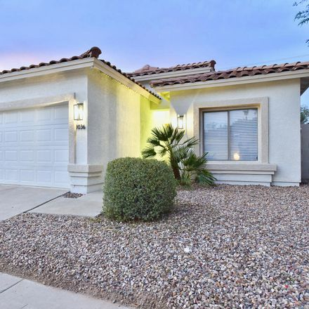 Rent this 3 bed house on 1036 East Susan Lane in Tempe, AZ 85281