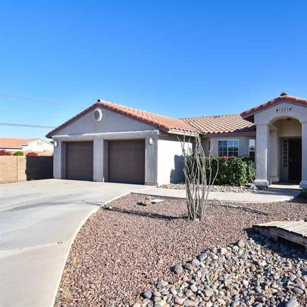 Rent this 3 bed house on 7885 East Lorenzo Lane in Yuma County, AZ 85365
