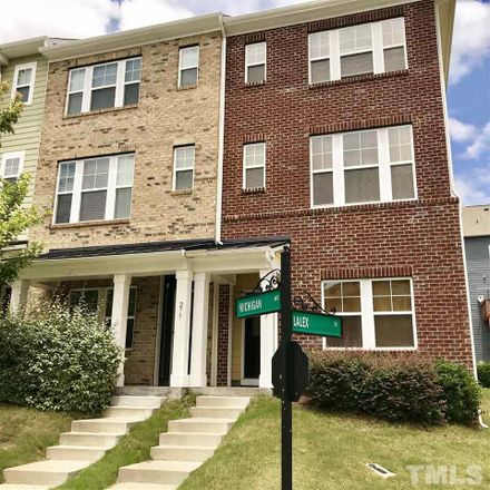 Rent this 3 bed townhouse on 275 Michigan Avenue in Cary, NC 27519