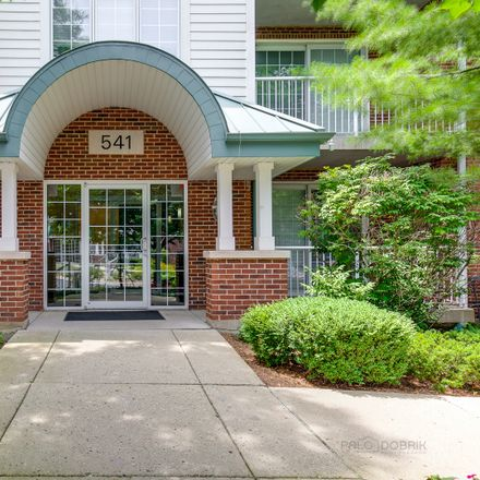 Rent this 2 bed condo on 541 North Hough Street in Barrington, IL 60010
