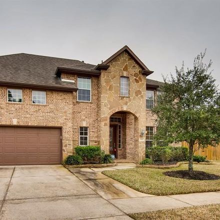 Rent this 4 bed house on 5927 Beeston Hall Court in Harris County, TX 77388