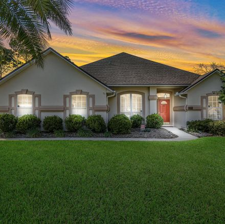 Rent this 4 bed house on 12074 Brandon Lake Drive in Jacksonville, FL 32258