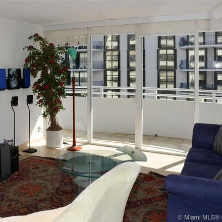 Rent this 2 bed condo on Rimini Beach Condominium Association in 8911 Collins Avenue, Surfside