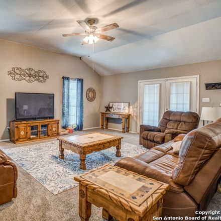 Rent this 4 bed house on Wildrose Dr in Floresville, TX