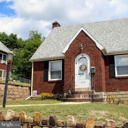 Rent this 2 bed house on 809 Sunbury Avenue in Cumberland, MD 21502