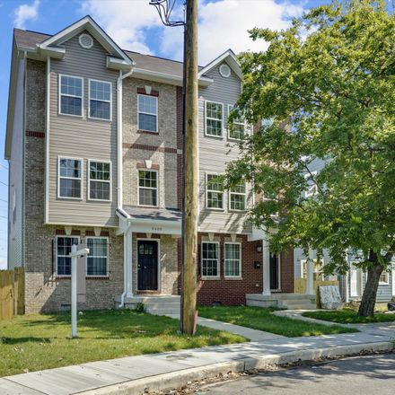 Rent this 4 bed townhouse on 4400 Lee Street Northeast in Washington, DC 20019