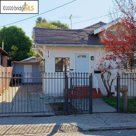 Rent this 2 bed house on 5215 Wentworth Avenue in Oakland, CA 94601