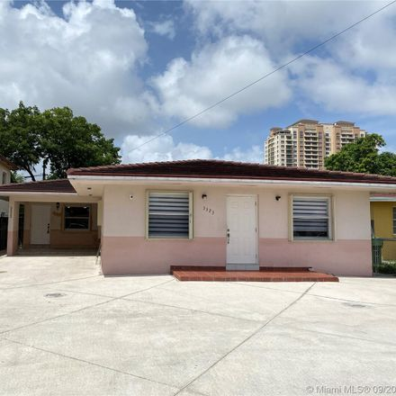 Rent this 3 bed duplex on 3325 Southwest 23rd Terrace in Miami, FL 33145