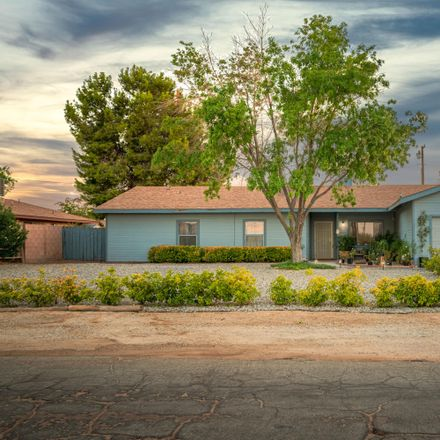 Rent this 3 bed house on 21401 Reed Place in California City, CA 93505