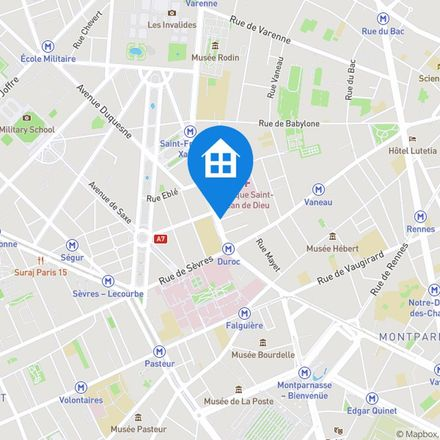 Rent this 4 bed apartment on 59 Boulevard des Invalides in 75007 Paris, France
