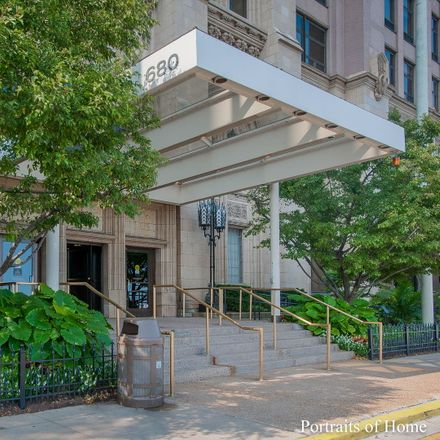 Rent this 2 bed condo on Cafe Descartes in 680 North Lake Shore Drive, Chicago
