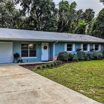 Rent this 3 bed house on N Appalachian Ter in Crystal River, FL