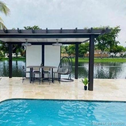 Rent this 3 bed house on 3498 Hibiscus Place in Miramar, FL 33023