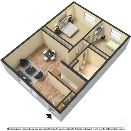 Rent this 1 bed apartment on N in Runnemede, NJ 08078