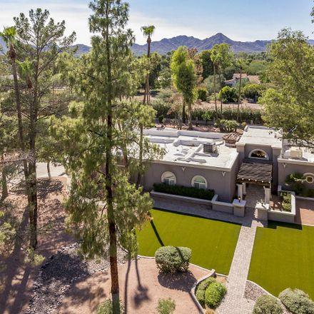 Rent this 4 bed house on 8110 North Via de Lago in Scottsdale, AZ 85258