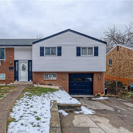 Rent this 4 bed house on 735 Riehl Drive in Castle Shannon, PA 15234