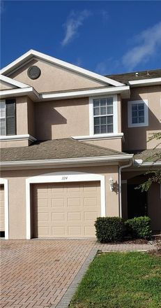 Rent this 3 bed townhouse on 324 Morning Rain Place in Valrico, FL 33594