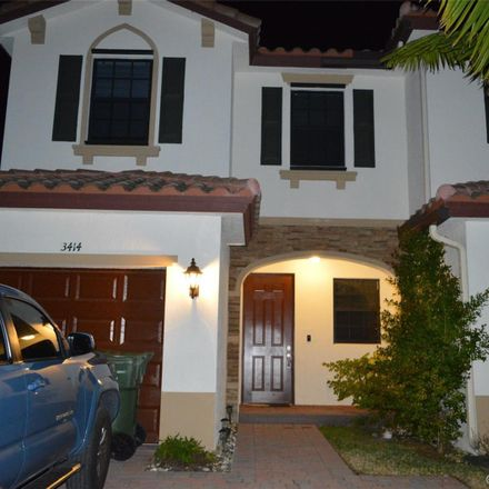 Rent this 3 bed townhouse on 3414 Southeast 1st Street in Homestead, FL 33033