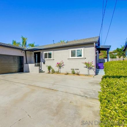 Rent this 3 bed house on 3664 Jennifer Street in San Diego, CA 92117