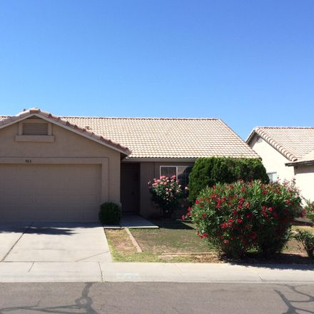 Rent this 3 bed house on 483 East Harrison Street in Chandler, AZ 85225
