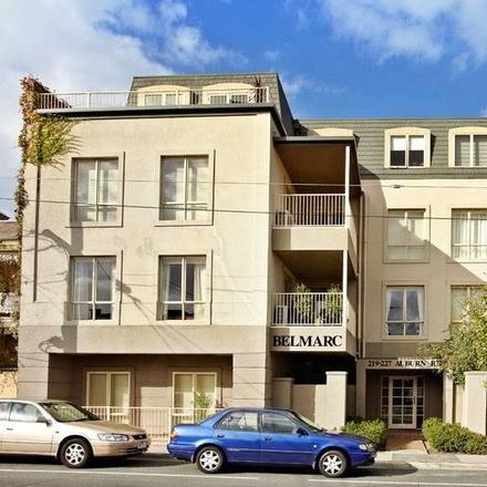 Rent this 1 bed apartment on 5/219-227 Auburn Road